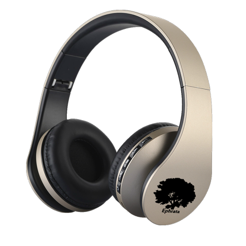 casque audio sans fil couleur or / gold